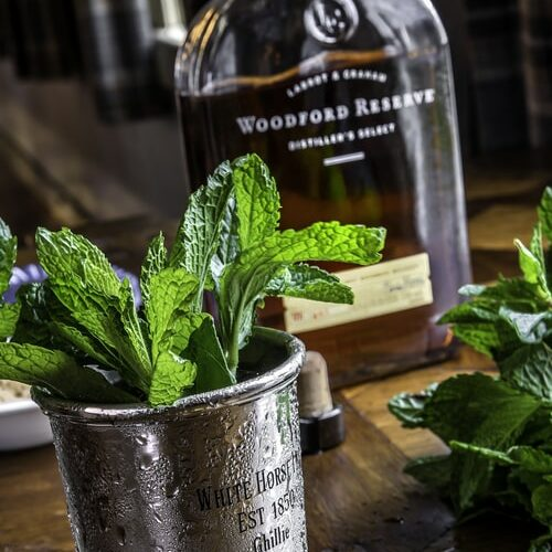 The makings of a Mint Julep